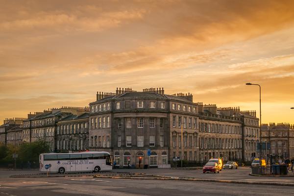 A Glimpse of Edinburgh, Scotland