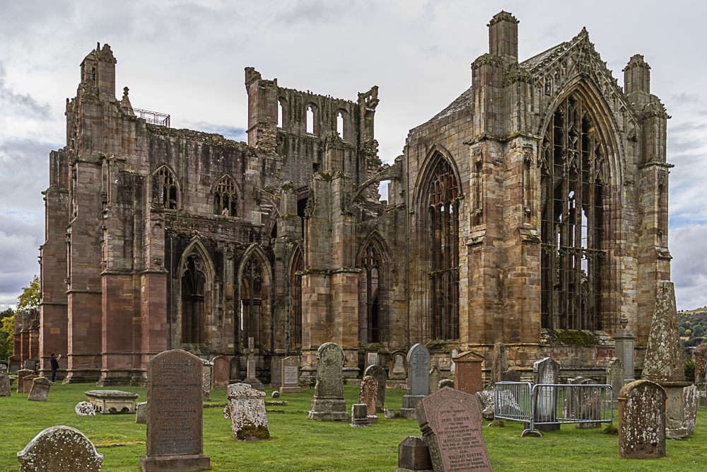 Scotland's Melrose Abbey