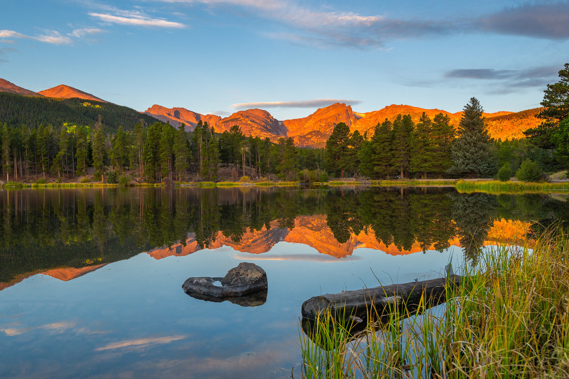 Sprague Lake – Rocky Mountains National Park, CO