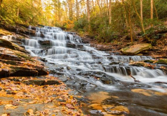 North Georgia – Fall Colors and Waterfalls – 2018