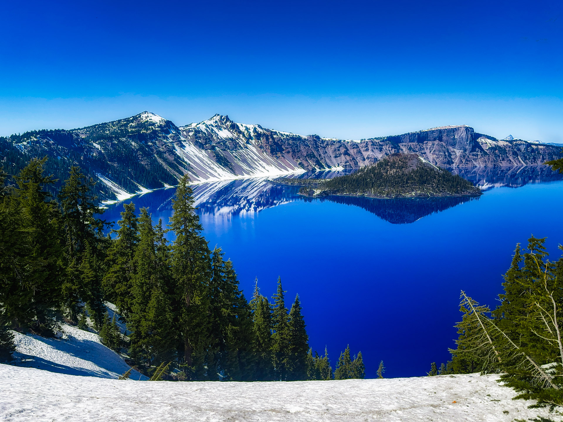 Crater Lake National Park – Oregon – Part 6 – 2021